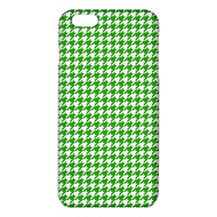 Friendly Houndstooth Pattern,green Iphone 6 Plus/6s Plus Tpu Case by MoreColorsinLife