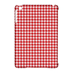 Friendly Houndstooth Pattern,red Apple Ipad Mini Hardshell Case (compatible With Smart Cover) by MoreColorsinLife