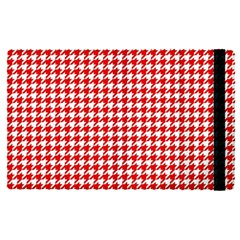 Friendly Houndstooth Pattern,red Apple Ipad Pro 9 7   Flip Case by MoreColorsinLife