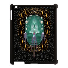 Temple Of Yoga In Light Peace And Human Namaste Style Apple Ipad 3/4 Case (black) by pepitasart