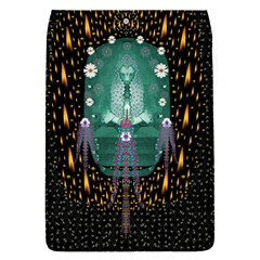 Temple Of Yoga In Light Peace And Human Namaste Style Flap Covers (s)  by pepitasart