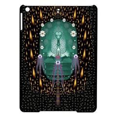 Temple Of Yoga In Light Peace And Human Namaste Style Ipad Air Hardshell Cases by pepitasart