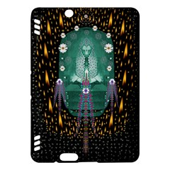 Temple Of Yoga In Light Peace And Human Namaste Style Kindle Fire Hdx Hardshell Case by pepitasart