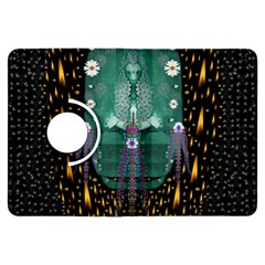 Temple Of Yoga In Light Peace And Human Namaste Style Kindle Fire Hdx Flip 360 Case by pepitasart
