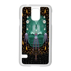 Temple Of Yoga In Light Peace And Human Namaste Style Samsung Galaxy S5 Case (white) by pepitasart