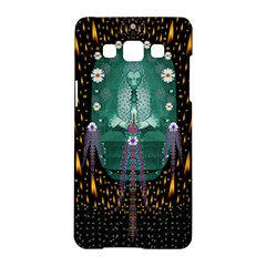 Temple Of Yoga In Light Peace And Human Namaste Style Samsung Galaxy A5 Hardshell Case