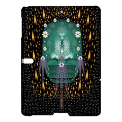 Temple Of Yoga In Light Peace And Human Namaste Style Samsung Galaxy Tab S (10 5 ) Hardshell Case  by pepitasart