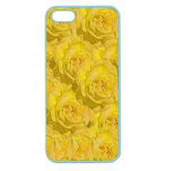 Summer Yellow Roses Dancing In The Season Apple Seamless Iphone 5 Case (color)