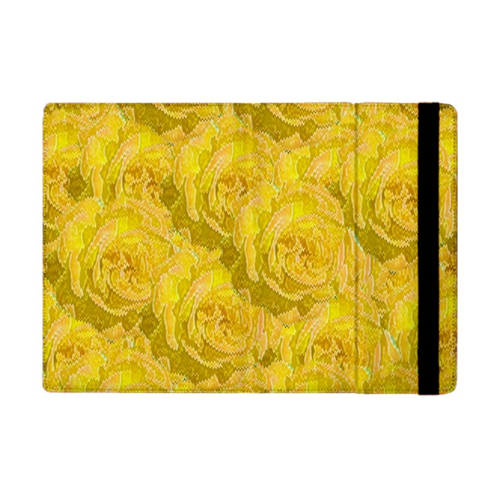 Summer Yellow Roses Dancing In The Season Apple iPad Mini Flip Case