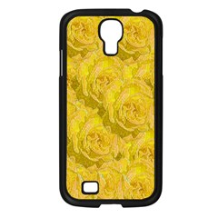 Summer Yellow Roses Dancing In The Season Samsung Galaxy S4 I9500/ I9505 Case (black) by pepitasart