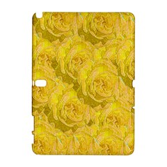 Summer Yellow Roses Dancing In The Season Galaxy Note 1 by pepitasart
