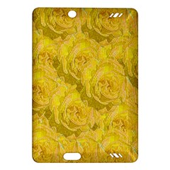 Summer Yellow Roses Dancing In The Season Amazon Kindle Fire Hd (2013) Hardshell Case by pepitasart