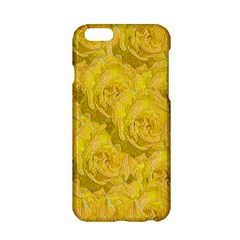 Summer Yellow Roses Dancing In The Season Apple Iphone 6/6s Hardshell Case by pepitasart