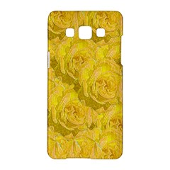 Summer Yellow Roses Dancing In The Season Samsung Galaxy A5 Hardshell Case  by pepitasart