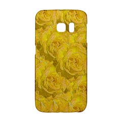 Summer Yellow Roses Dancing In The Season Galaxy S6 Edge by pepitasart