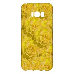 Summer Yellow Roses Dancing In The Season Samsung Galaxy S8 Plus Hardshell Case  by pepitasart