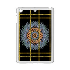 Blue Bloom Golden And Metal Ipad Mini 2 Enamel Coated Cases by pepitasart