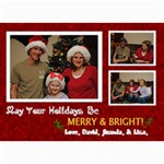 Merry & Bright Christmas Card - 5  x 7  Photo Cards