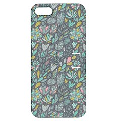Cactus Pattern Green  Apple Iphone 5 Hardshell Case With Stand by Mishacat
