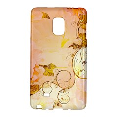 Wonderful Floral Design In Soft Colors Galaxy Note Edge by FantasyWorld7