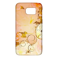 Wonderful Floral Design In Soft Colors Galaxy S6 by FantasyWorld7