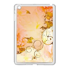 Wonderful Floral Design In Soft Colors Apple Ipad Mini Case (white) by FantasyWorld7