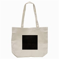 Brick2 Black Marble & Gray Leather Tote Bag (cream) by trendistuff
