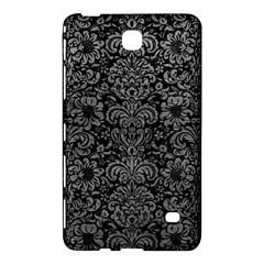 Damask2 Black Marble & Gray Leather Samsung Galaxy Tab 4 (7 ) Hardshell Case  by trendistuff