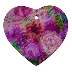 Acid Vintage Heart Ornament (two Sides) by QueenOfEngland