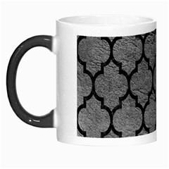 Tile1 Black Marble & Gray Leather (r) Morph Mugs by trendistuff
