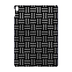 Woven1 Black Marble & Gray Leather Apple Ipad Pro 10 5   Hardshell Case by trendistuff