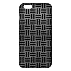 Woven1 Black Marble & Gray Leather (r) Iphone 6 Plus/6s Plus Tpu Case by trendistuff