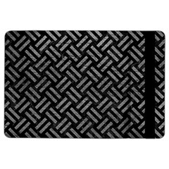Woven2 Black Marble & Gray Leather Ipad Air 2 Flip by trendistuff