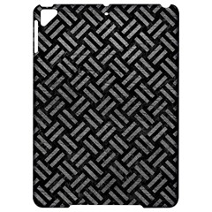 Woven2 Black Marble & Gray Leather Apple Ipad Pro 9 7   Hardshell Case by trendistuff
