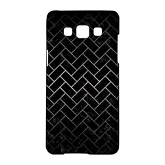 Brick2 Black Marble & Gray Metal 1 Samsung Galaxy A5 Hardshell Case  by trendistuff