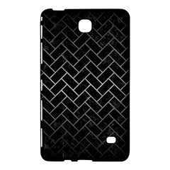 Brick2 Black Marble & Gray Metal 1 Samsung Galaxy Tab 4 (7 ) Hardshell Case  by trendistuff