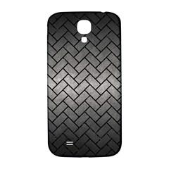Brick2 Black Marble & Gray Metal 1 (r) Samsung Galaxy S4 I9500/i9505  Hardshell Back Case by trendistuff