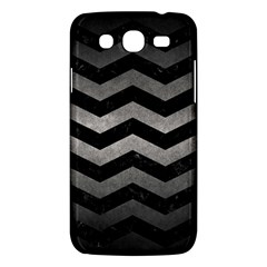 Chevron3 Black Marble & Gray Metal 1 Samsung Galaxy Mega 5 8 I9152 Hardshell Case  by trendistuff
