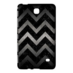 Chevron9 Black Marble & Gray Metal 1 Samsung Galaxy Tab 4 (7 ) Hardshell Case  by trendistuff