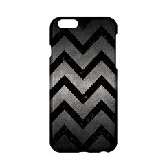 Chevron9 Black Marble & Gray Metal 1 (r) Apple Iphone 6/6s Hardshell Case