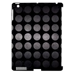 Circles1 Black Marble & Gray Metal 1 Apple Ipad 3/4 Hardshell Case (compatible With Smart Cover) by trendistuff