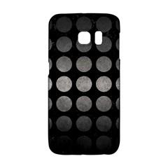 Circles1 Black Marble & Gray Metal 1 Galaxy S6 Edge by trendistuff