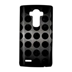 Circles1 Black Marble & Gray Metal 1 (r) Lg G4 Hardshell Case by trendistuff