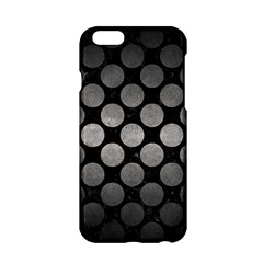Circles2 Black Marble & Gray Metal 1 Apple Iphone 6/6s Hardshell Case by trendistuff
