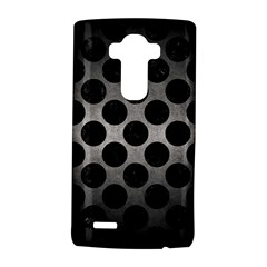 Circles2 Black Marble & Gray Metal 1 (r) Lg G4 Hardshell Case by trendistuff