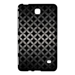 Circles3 Black Marble & Gray Metal 1 Samsung Galaxy Tab 4 (7 ) Hardshell Case  by trendistuff