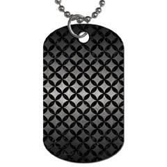 Circles3 Black Marble & Gray Metal 1 (r) Dog Tag (two Sides) by trendistuff