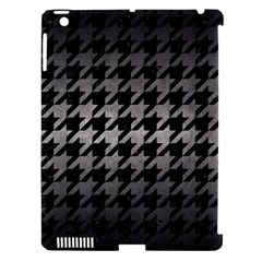 Houndstooth1 Black Marble & Gray Metal 1 Apple Ipad 3/4 Hardshell Case (compatible With Smart Cover) by trendistuff