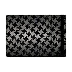 Houndstooth2 Black Marble & Gray Metal 1 Ipad Mini 2 Flip Cases by trendistuff
