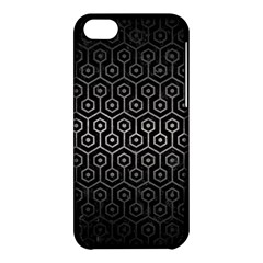 Hexagon1 Black Marble & Gray Metal 1 Apple Iphone 5c Hardshell Case by trendistuff